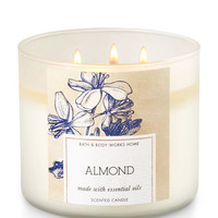 Almond 3-Wick Candle | Bath And Body Works