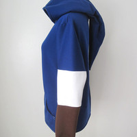 The Legend of Zelda Zora Blue Link Hoodie Jacket