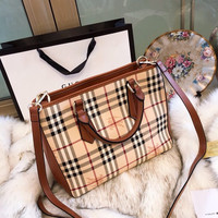 Burberry Vintage Check Tote bag Shoulder Bag