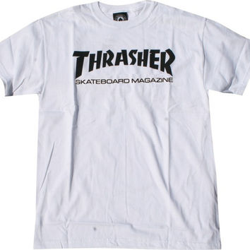 Thrasher Skate Mag Tee Medium White