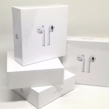 Apple AirPods Auricolari Wireless Bluetooth MMEF2ZM/A Originali Garanzia