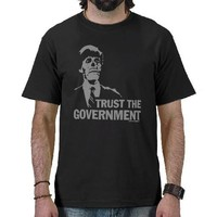 GOVERNMENT CONSPIRACY SHIRTS from Zazzle.com
