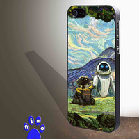 Wall-E and Eve watercolor MATRACE for iphone 4/4s/5/5s/5c/6/6+, Samsung S3/S4/S5/S6, iPad 2/3/4/Air/Mini, iPod 4/5, Samsung Note 3/4 Case **