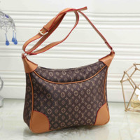 LV Louis Vuitton Women Shopping Bag Leather Tote Handbag Satchel