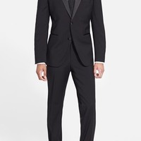 Men's BOSS 'The Stars 75/Glamour 3' Wool Tuxedo (Free Next Day Shipping)