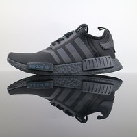 "Adidas NMD R1 ""Black"" Boost Men Women Running Sneaker"