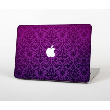 """The Purple Delicate Foliage Pattern Skin for the Apple MacBook Air 13"""""""