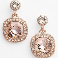 Women's Givenchy Crystal Drop Earrings - Rose Gold/ Vintage