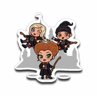 Student Witches Sticker Decal