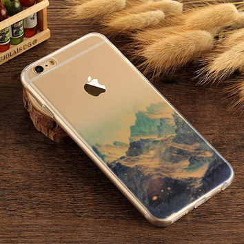 Snow-capped Mountains for iPhone 7 7Plus & iPhone 6s 6 Plus +Gift Box