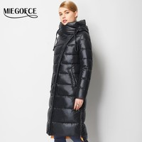 Women's Hooded Warm Puffer Coat