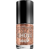 Maybelline Color Show Veils Nail Lacquer Top Coat Nail Polish - Rose Mirage