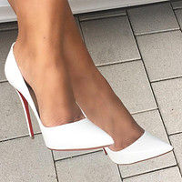 ( S C ) Christian Louboutin CL 2021 New pointed high heels