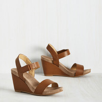 The Simple Springs in Life Wedge | Mod Retro Vintage Heels | ModCloth.com