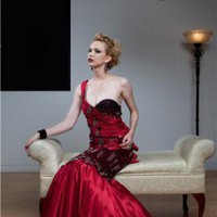 Hollywood Glam Evening Gown