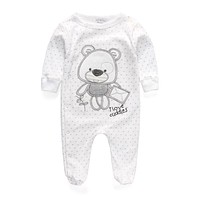 Baby Clothing 2017 New Newborn Baby Boy Girl Romper Clothes Long Sleeve Infant Product