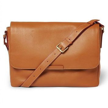Tan Messenger Bag by Marc Jacobs