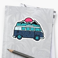 'Go Outdoor' Sticker by Afif Quilimo