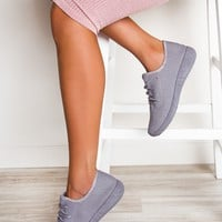 Fast Track Sneakers - Gray