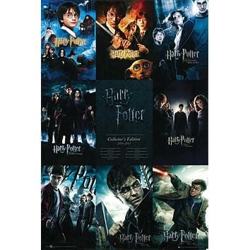 Harry Potter Collection Poster