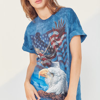 The Mountain Eagle Tie-Dye Tee | Urban Outfitters