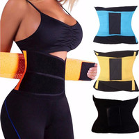 Women's Men's Workout Waist Trainer Belt Cincher Girdle Slimming Body Shaper Weight Loss Tummy Control Corset Stomach Shapers