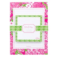 Lilly Pulitzer Sticky Notes with Notepad - See Jane Work