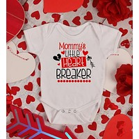 Mommy's Little Heartbreaker - Valentine's Day Baby Outfits