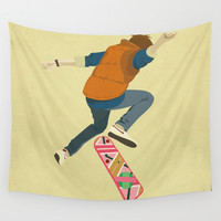 McFly Wall Tapestry by Danny Haas