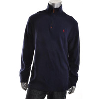 Polo Ralph Lauren Mens Knit Ribbed Pullover Sweater