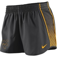 Nike Women's West Virginia Mountaineers Charcoal Stealth Pacer Performance Shorts