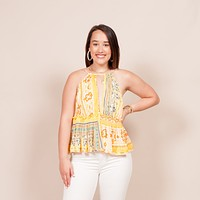 Free People - Bellini Patchwork Tank