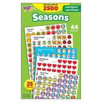Stickers Seasons Colossal Variety
