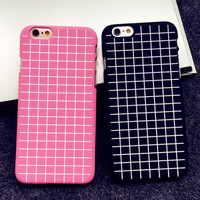 Ultrathin Grid Case Best Protection Cover for iPhone 5s 6 6s Plus