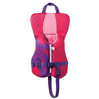Full Throttle Rapid Dry PFD - Infant to 30lbs - Pink/Purple