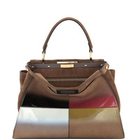 Fendi Peekaboo Medium Gradient Calf Bag