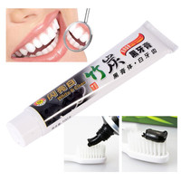 GU82 toothpaste charcoal toothpaste whitening black toothpaste bamboo charcoal toothpaste oral hygiene tooth paste