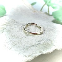 Septum Ring Gold Chiseled