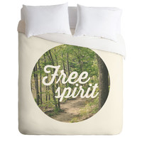 Allyson Johnson Free Spirit Nature Photograph Duvet Cover