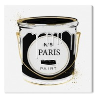 Oliver Gal Paris Fashion Paint Canvas Wall Art | Nordstrom