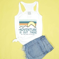 Adventure Is Out There Women's Racerback Tank - 2XL Only