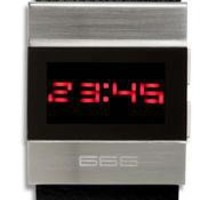 666 Barcelona Black Spaceworker Watch - Cool Watches from Watchismo.com