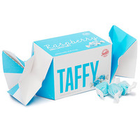 Blue Raspberry Salt Water Taffy: 6-Ounce Twist Box