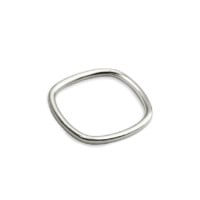 Square Sterling Silver Ring