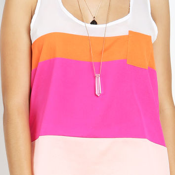 One Pocket Striped Top
