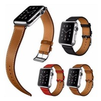 YIFALIAN Series 2/1 For Apple Watch Band,For Apple Watch Leather Band Single Tour With Connector For iwatch Strap