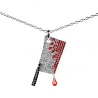 Diamante Cleaver Necklace