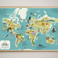 Map Of The World (The Monocle Shop)