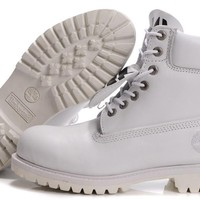 Timberland Men All white waterproof boots