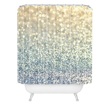 Lisa Argyropoulos Snowfall Shower Curtain